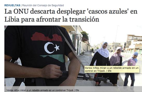 Noticia en la versión online del diario El Mundo.