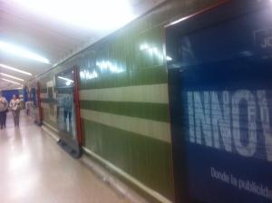 Metro y publicidad